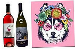 Custom Label Wine Mixes Art With Animal Rescue på Mutt Lynch Winery